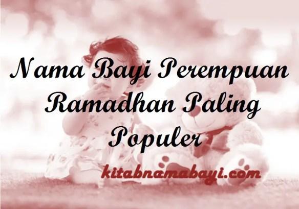 Nama Bayi Perempuan Ramadhan