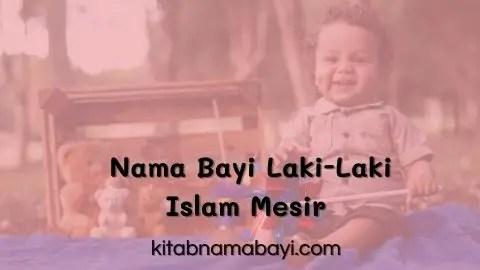 Nama Bayi Laki-Laki Islam Mesir
