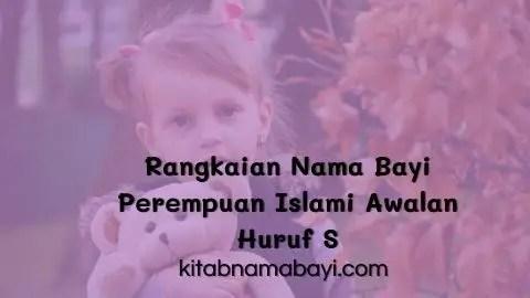 rangkaian nama bayi perempuan islami awalan huruf s