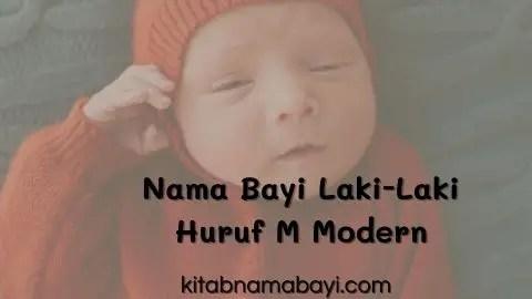 nama bayi laki-laki huruf M modern