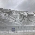 2018年さっぽろ雪まつり大通会場の風景