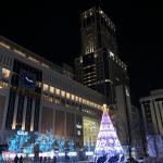 さっぽろホワイトイルミネーション写真・札幌駅南口広場2019年1月~北海道のイルミネーションイベントの風景~