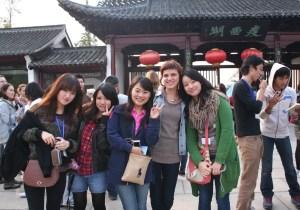 Двушки студентки на улице китая