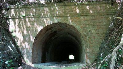 地図から消えた煉瓦トンネル【旧椿隧道】
