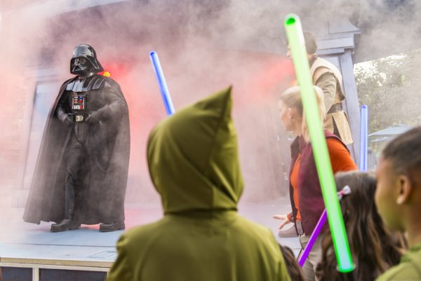 Hong Kong Disneyland_Star Wars Tomorrowland Takeover_in Jedi Training Trials of the Temple