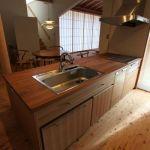 「大屋根でつつむ家」キッチン