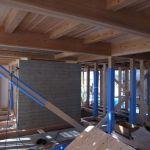 「縣の家」木工事