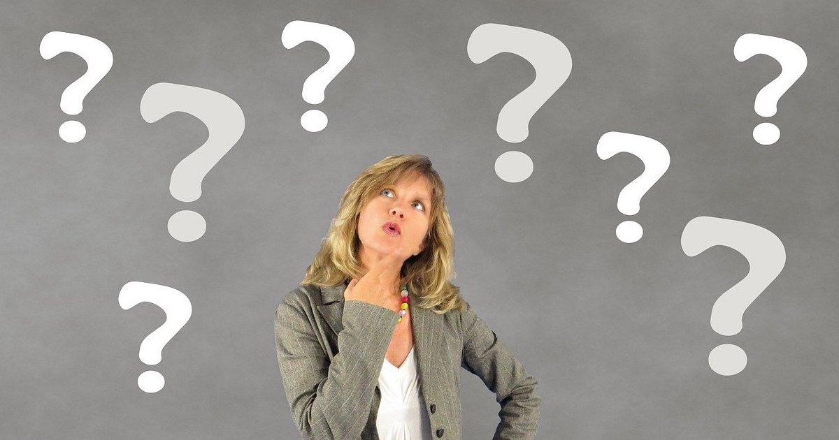 ブログを読んで質問が浮かんだ女性