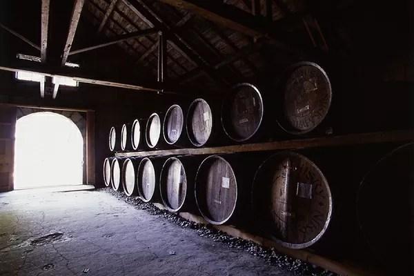 ニッカウヰスキー余市蒸留所の樽