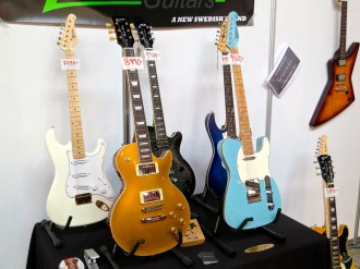 Fuzz 2015 – Green and Gilmour Guitars (Sweden)