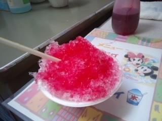 赤ちゃん大会in勝楽堂 お土産 カキ氷