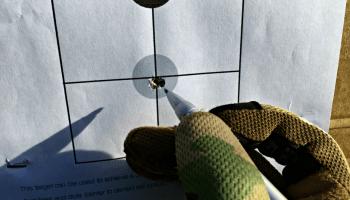 10 Yard Zeroing Target by Jerking the Trigger | Kit Badger