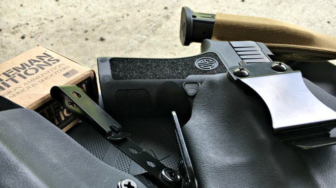 Sig P320 X Compact /BPT Holster /SET Mag Pouch | Kit Badger
