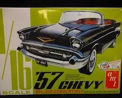 57 Chevy Bel Air Convertible