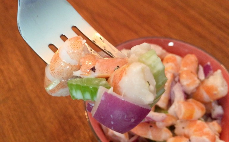 KitchAnnette Shrimp Salad Fork