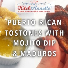 KitchAnnette Tostones Maduros Feature Shot