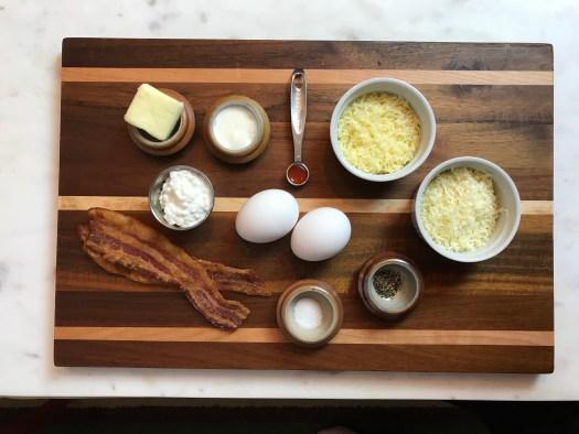 KitchAnnette Egglettes Ingredients