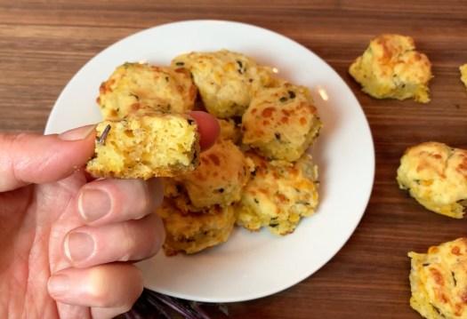 KitchAnnette Herb Biscuits Bite