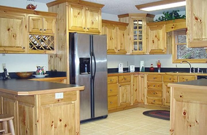 unfinished knotty pine kitchen cabinets  wow blog
