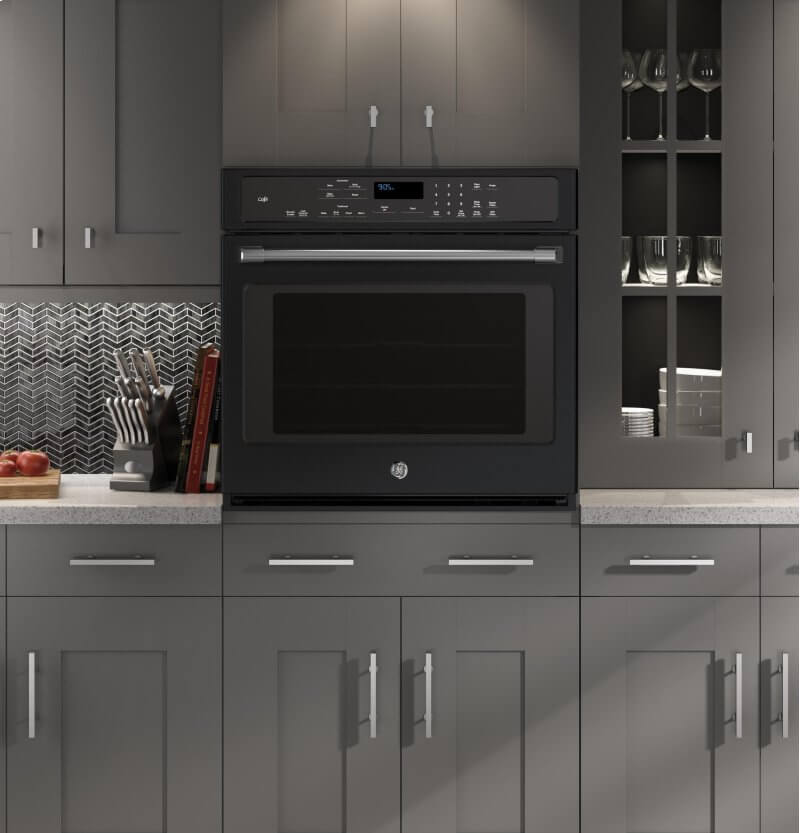 Slate Appliances Amp Bold Kitchen Cabinet Colors For 2018