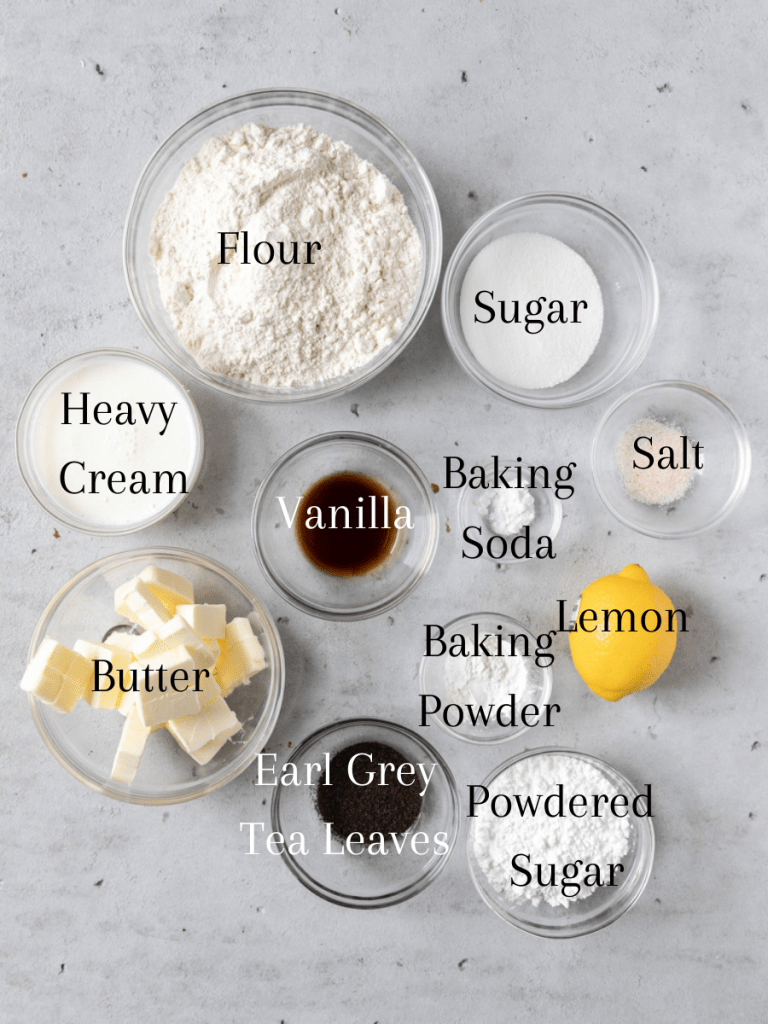 All of the ingredients