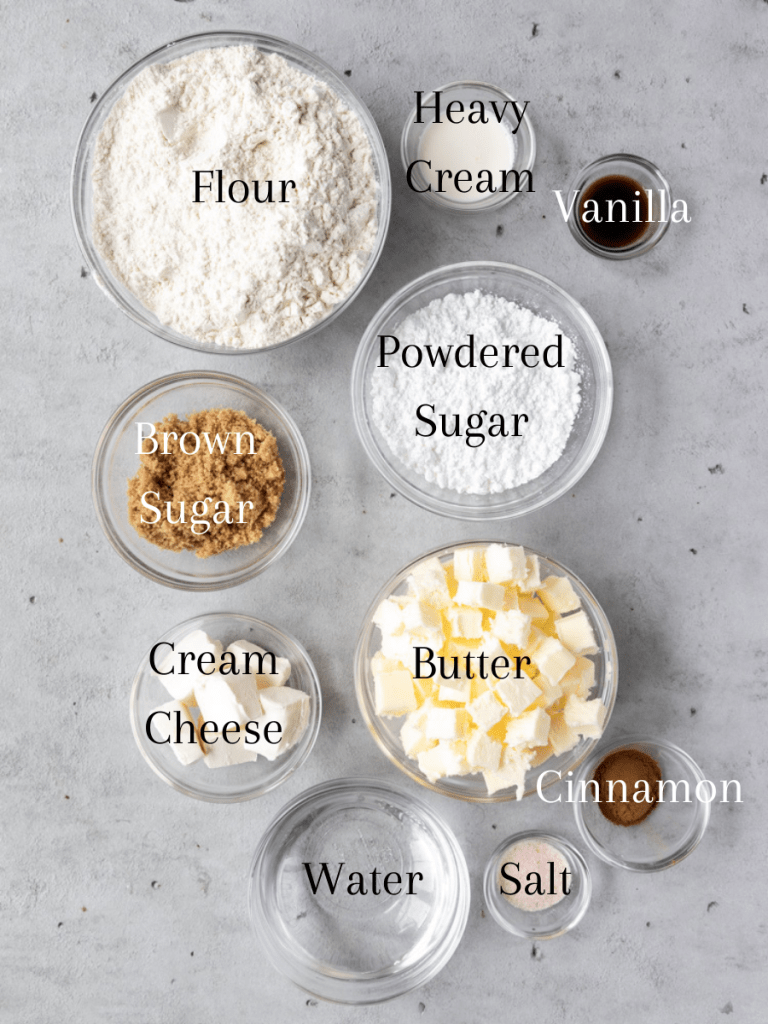 All of the ingredients needed for this recipe