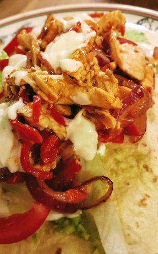 Wrap Pollo Mexicana – leichter und frischer Genuss mit Guacamole