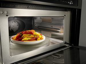 27 combination wall oven with even heat true convection lower oven