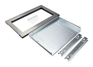 countertop microwave trim kit anti fingerprint stainless steel