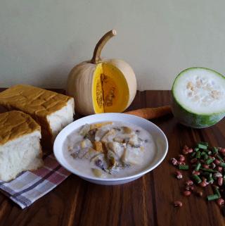 Valval – A yummy Konkani soup (Vegan + Gluten Free)