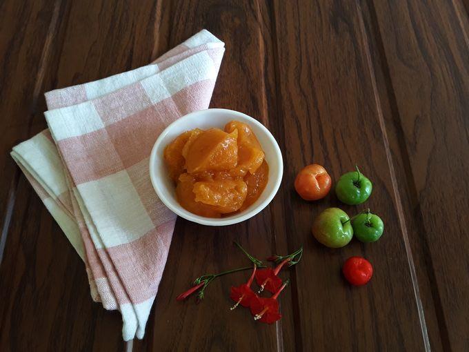 Acerola Cherry (Acerola cherries / Barbados cherries / West Indian cherries / Wild Crepe Myrtle cherries / Malpighia Emarginata) Jam