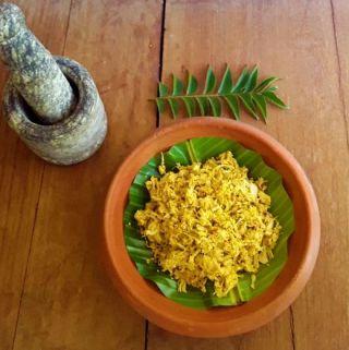 Kadgi Chakko – A delicious Konkani side dish (Vegan + Gluten Free)