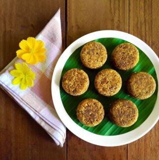 Indori – A traditional Konkani dessert (Vegan + Gluten Free)