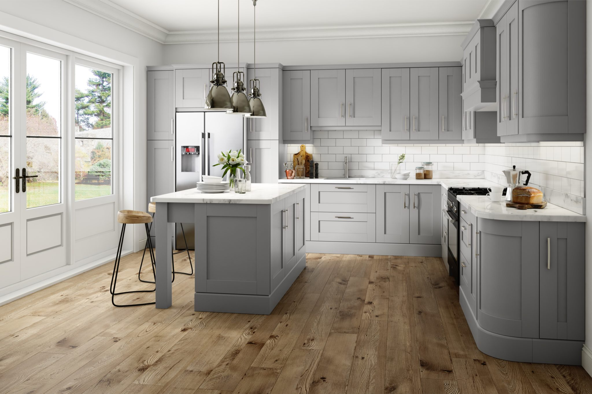 Made to Measure Kitchens - Kitchen Door Replacement ... on Kitchen Remodel Ideas  id=72557