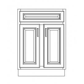 24 inch 2 doors