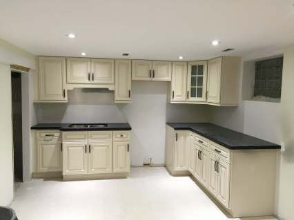 Basement kitchen remodelling 2