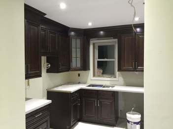 Kitchen Lighting Installation 2
