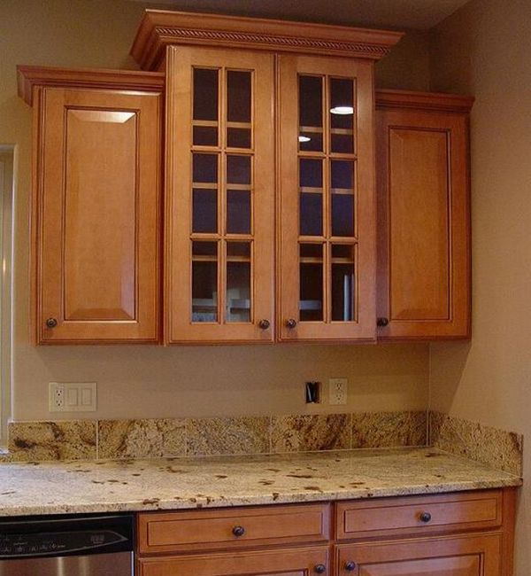 Molding For Kitchen Cabinets Tops: Add Crown Molding To Kitchen Cabinets