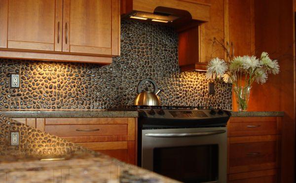 Pebble tile Backsplash_3