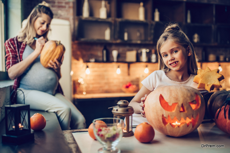 Halloween Kitchen decoration ideas