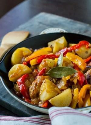 Chicken Afritada   Filipino Chicken Stew   Kitchen Confidante