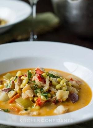Lobster Corn Chowder | Kitchen Confidante