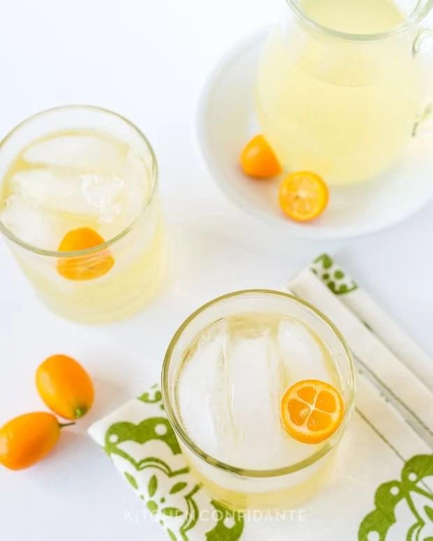 Kumquat Lemongrass Rum Cocktail | Kitchen Confidante | Cocktail