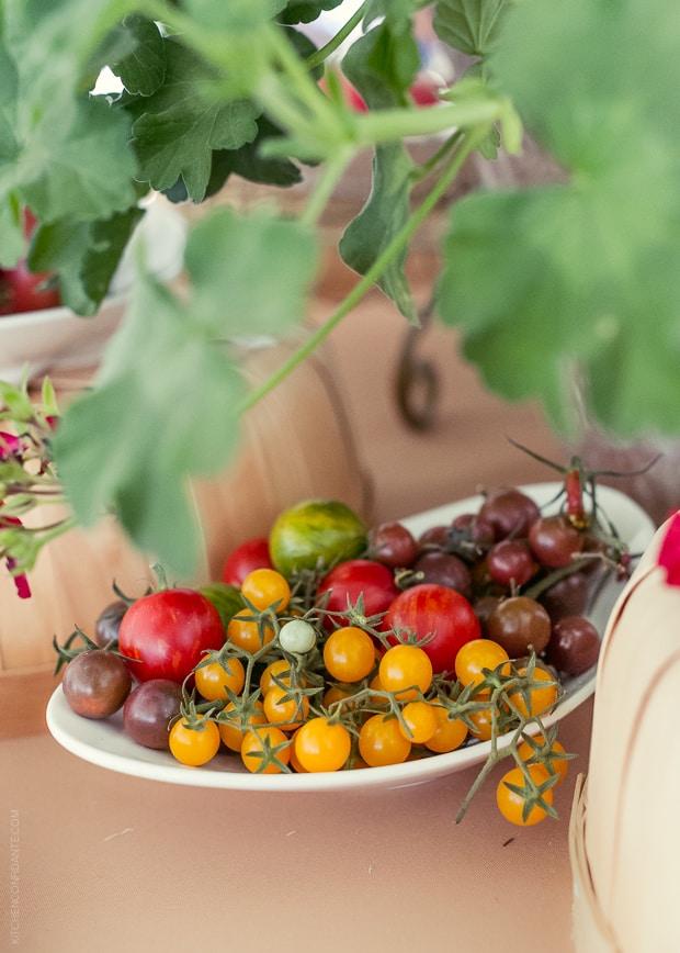2013 Kendall-Jackson Heirloom Tomato Festival | www.kitchenconfidante.com | Platter of Cherry Tomatoes