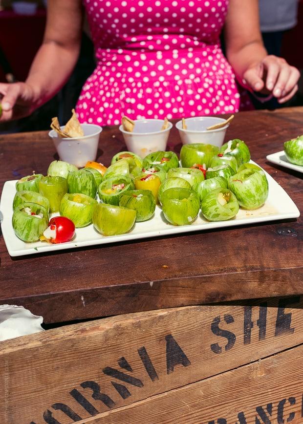2013 Kendall-Jackson Heirloom Tomato Festival | www.kitchenconfidante.com | Sea Scallop Ceviche