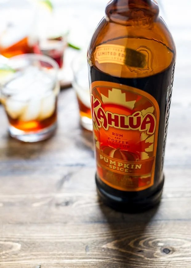 Pumpkin Spice Dark and Stormy   www.kitchenconfidante.com   Try Kahlua Pumpkin Spice in this classic cocktail.
