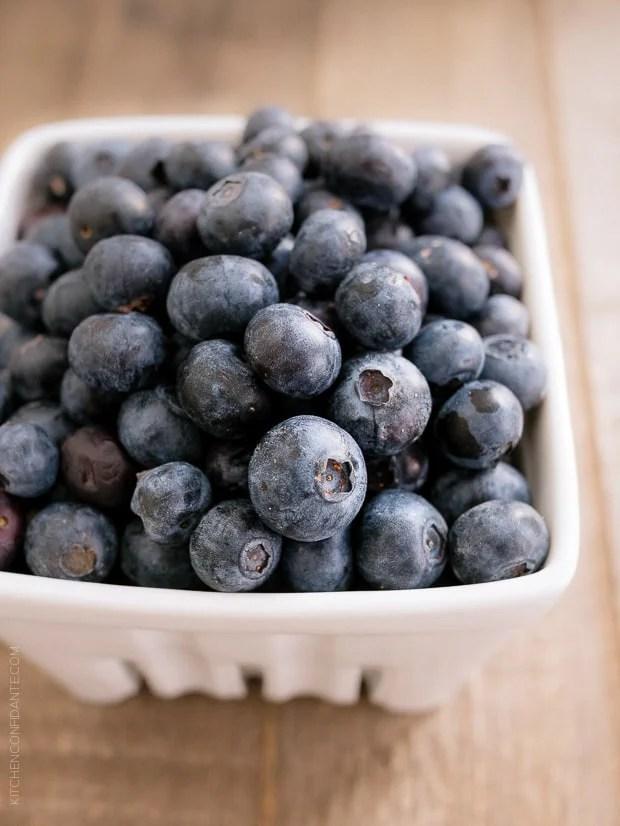 Blueberry Lemon Curd | www.kitchenconfidante.com | Fresh blueberries transform into a decadent curd.