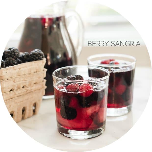 Berry Sangria | www.kitchenconfidante.com