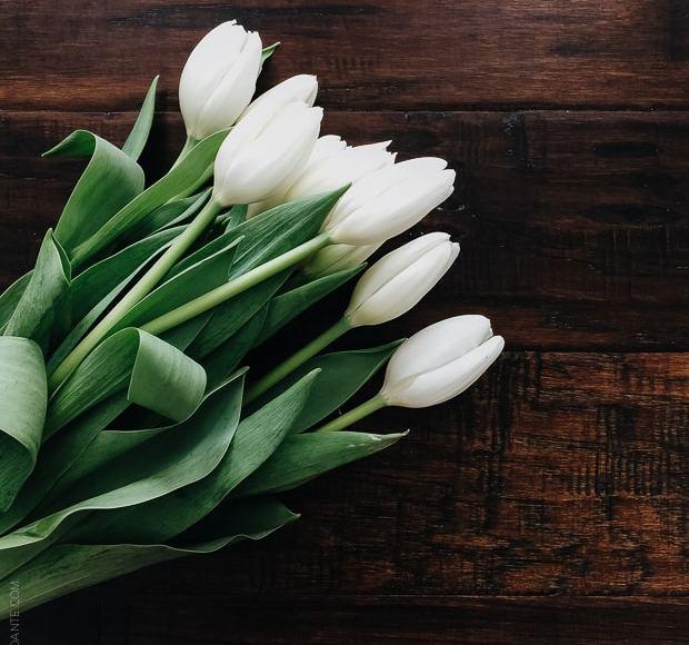 Tulips on Mother's Day - www.kitchenconfidante.com