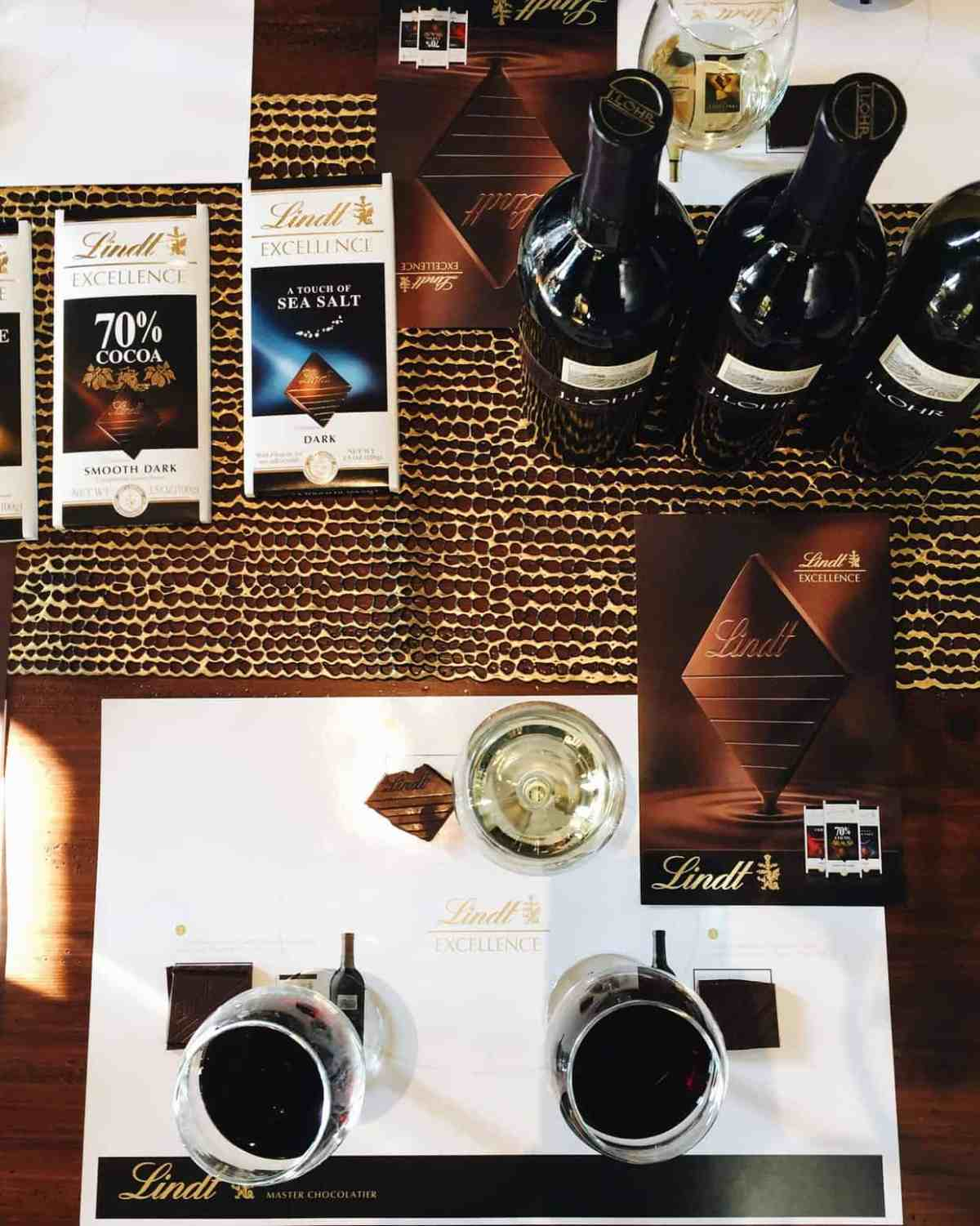 Lindt Chocolate and Wine Pairing at The Better Blog Retreat 2015 | www.kitchenconfidante.com